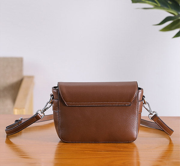 Chic Womens Leather Satchel Bag Crossbody Bags Purse for Women chic