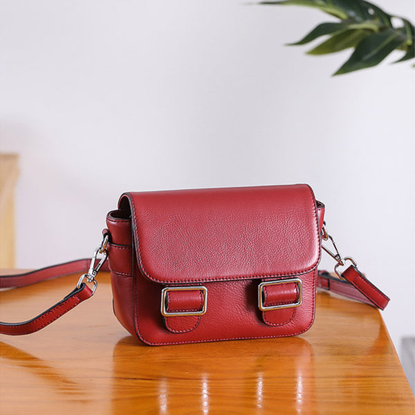 Chic Womens Leather Satchel Bag Crossbody Bags Purse for Women gift