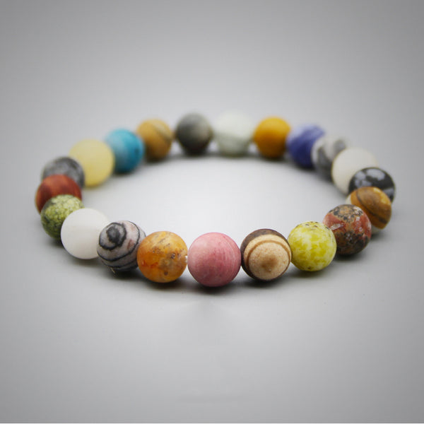 Colourful Beads Bracelet Handmade Couple Jewelry Accessories Women Men