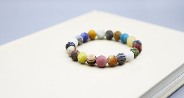 Colourful Beads Bracelet Handmade Couple Jewelry Accessories Women