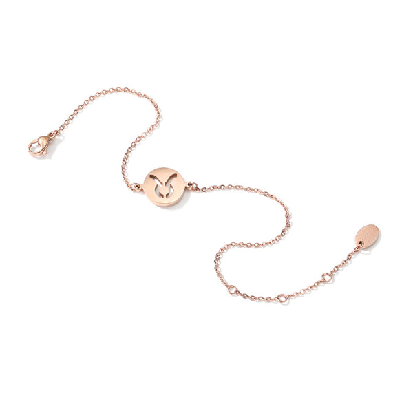 Constellation Anklet Unique Gold Plated Titanium Steel Jewelry Accessories Gift Women beautiful