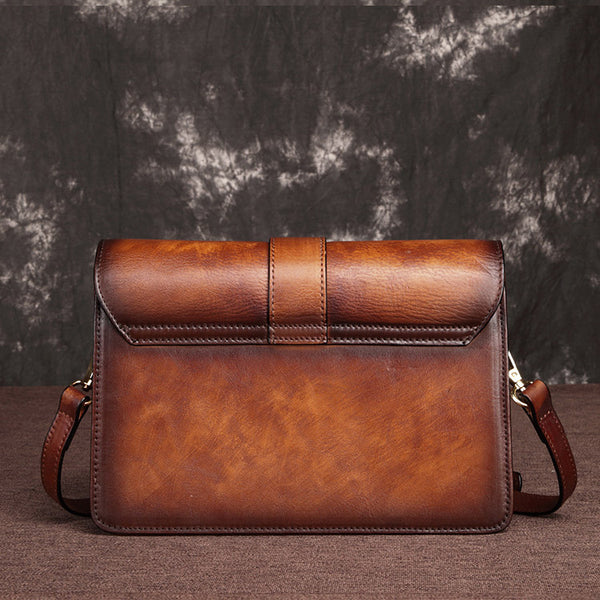 Cool Leather Satchel Crossbody Bags Small Over The Shoulder Purse for Women Original