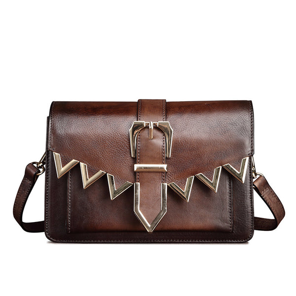 Cool Leather Satchel Crossbody Bags Small Over The Shoulder Purse for Women beautiful