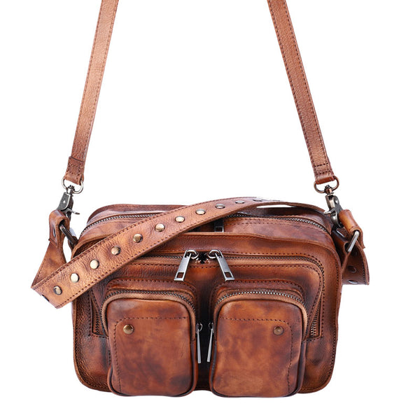 Cool Women's Leather Crossbody Sling Bags Purse Shoulder Bag for Women Affordable