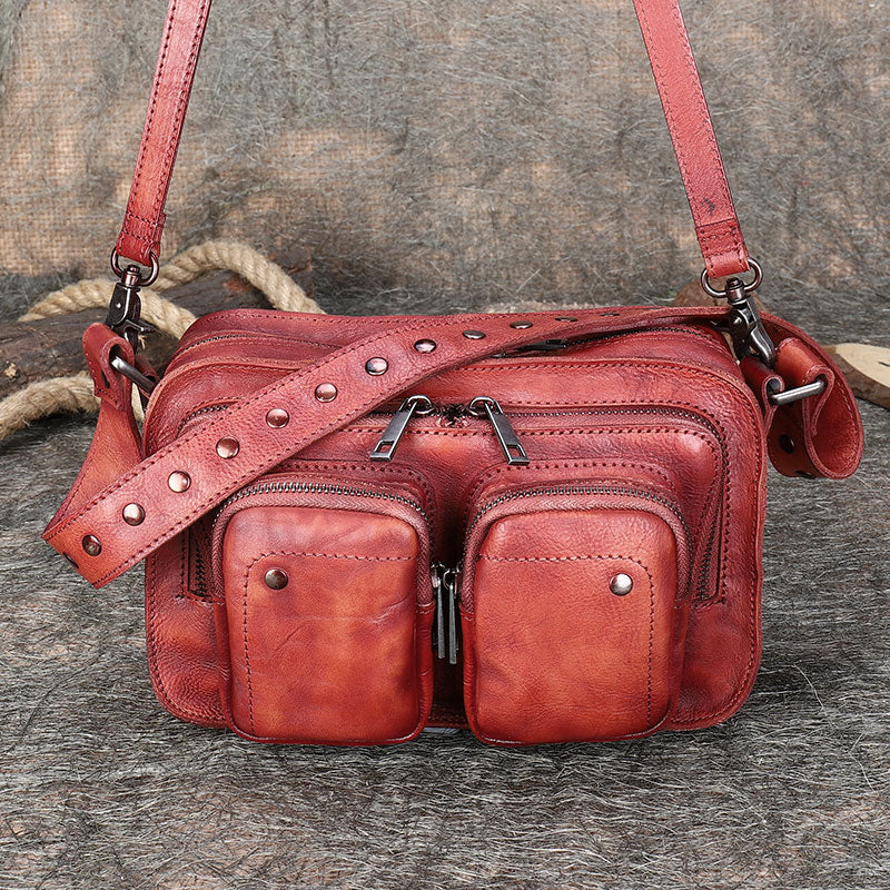 Cool Women's Leather Crossbody Sling Bags Purse Shoulder Bag for Women Beautiful
