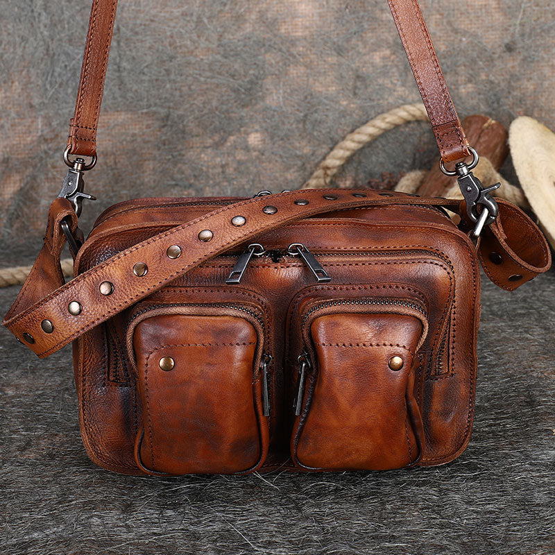 Cool Women's Leather Crossbody Sling Bags Purse Shoulder Bag for Women Best