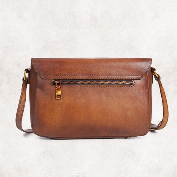 Cool Womens Brown Leather Satchel Bag Crossbody Bags Purse for Women best