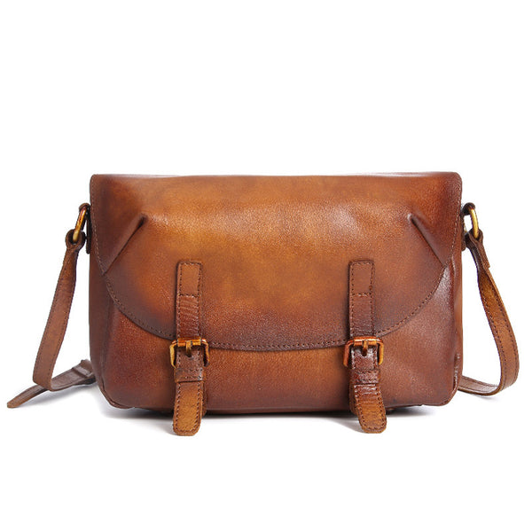 Cool Womens Brown Leather Satchel Bag