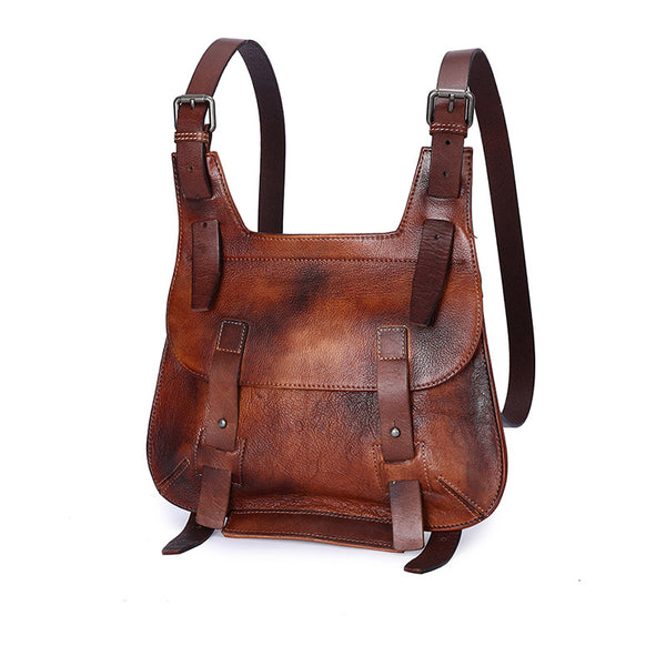 Cool Womens Genuine Leather Backpack Purse