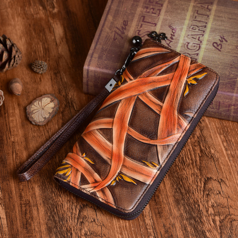 Cool Womens Genuine Leather Clutch Wallet Purse With Card Holder For Ladies Affordable