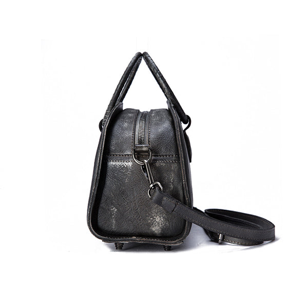 Cool Womens Half-Round Bag Leather Crossbody Bags Handbags for Women beautiful