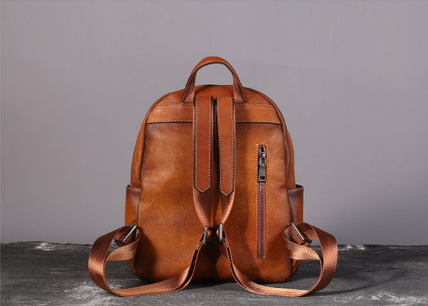 Cool Womens Small Backpack Purse Leather Backpacks for Women cool