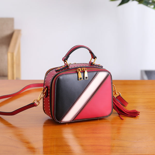 Cube Bag Women Leather Crossbody Bags Shoulder Bag Purses for Women best