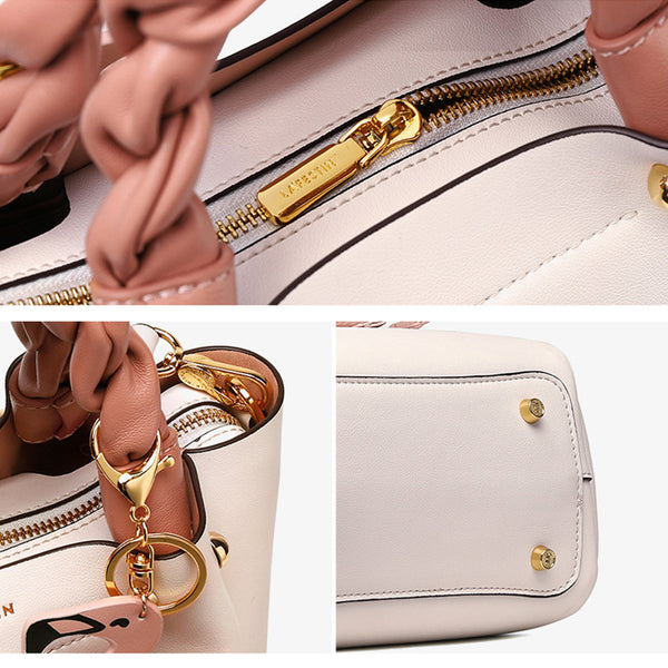 Cute Bucket Bag Womens Leather Handbags Tote Bag Crossbody Bags designer