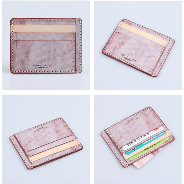 Cute Ladies Small Leather Card Holder Wallet Slim Wallets for Women Accessories