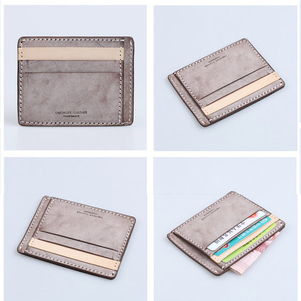 Cute Ladies Small Leather Card Holder Wallet Slim Wallets for Women cool