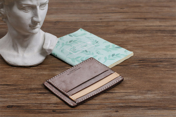 Cute Ladies Small Leather Card Holder Wallet Slim Wallets for Women gift