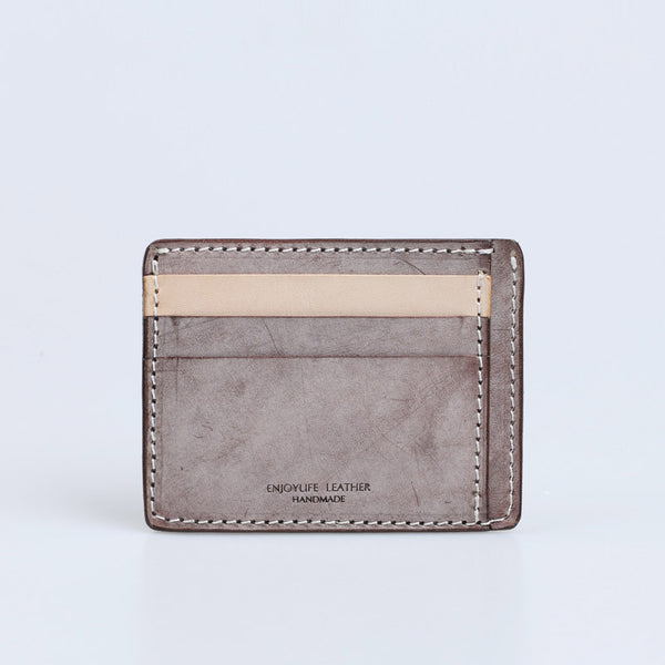 Cute Ladies Small Leather Card Holder