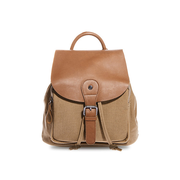 Cute Ladies Small Leather Rucksack Backpack Bag