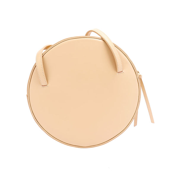 Cute Leather Womens Shoulder Bag Circle Handbags for Women best