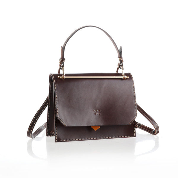 Cute Women's Genuine Leather Crossbody Satchel Bag Shoulder Handbags for Women Affordable