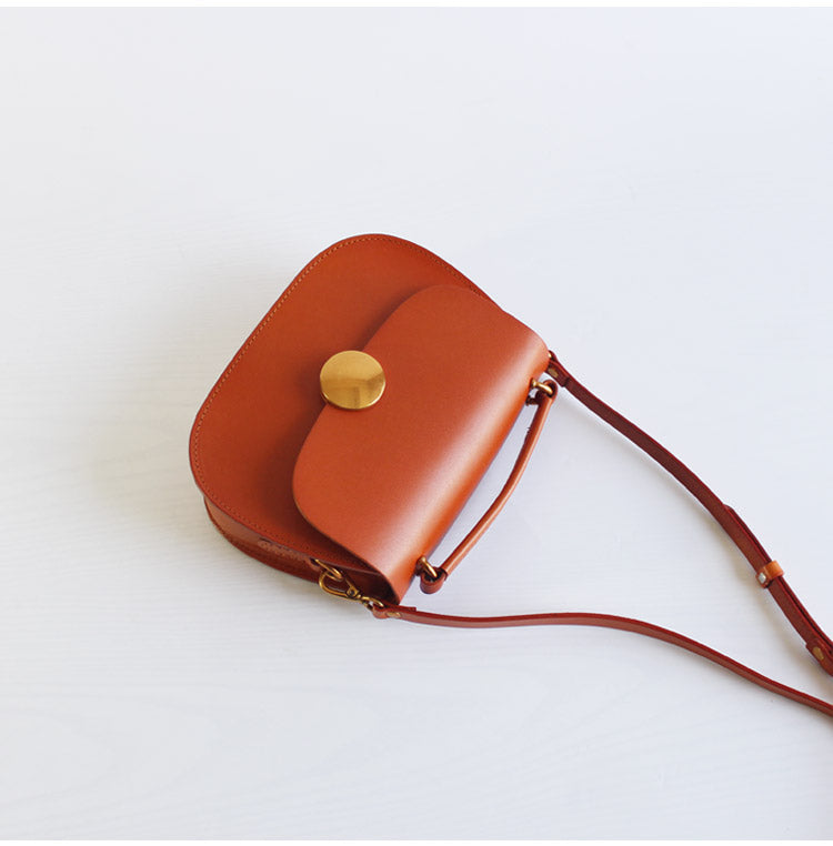 28daaf7a2b54 Cute Womens Brown Leather Crossbody Bags Small Handbags for Women beautiful