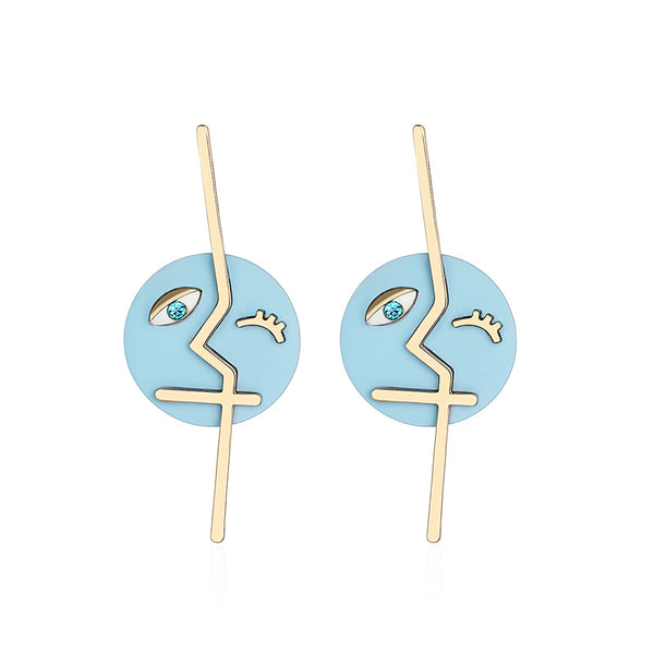 Designer Dangle Stud Earrings Fashion Jewelry Accessories Gift Women cute