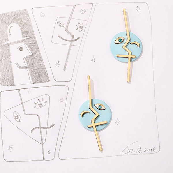 Designer Dangle Stud Earrings Fashion Jewelry Accessories Gift Women fashionable