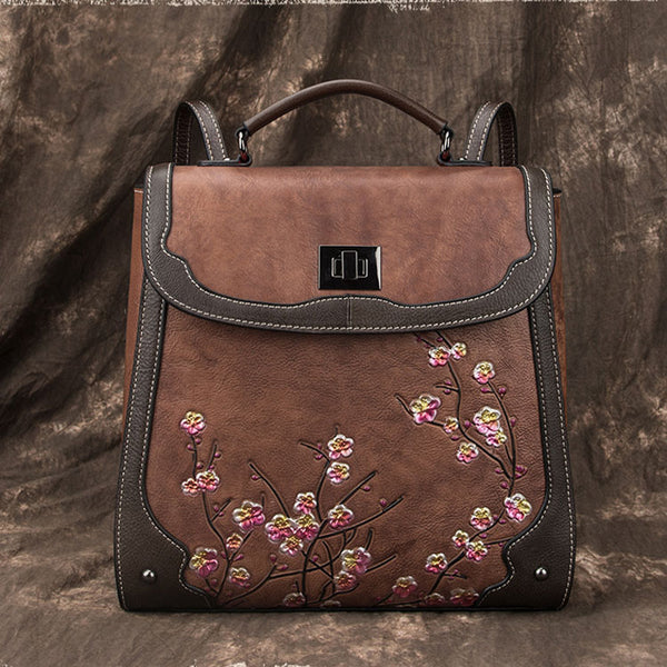 Designer Womens Leather Backpack Purse Shoulder Handbags for Women Affordable