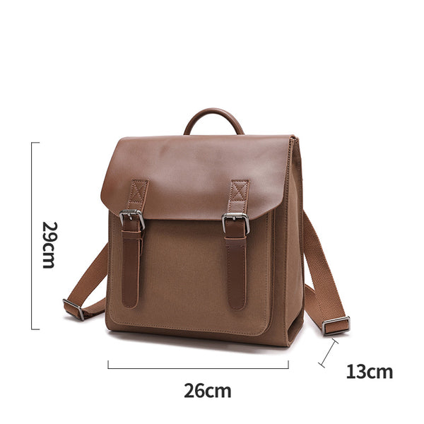 Designer Womens Small Rucksack Leather Backpack Bag Purse Canvas Backpacks for Women Original