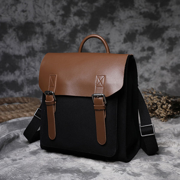 Designer Womens Small Rucksack Leather Backpack Bag Purse Canvas Backpacks for Women cute