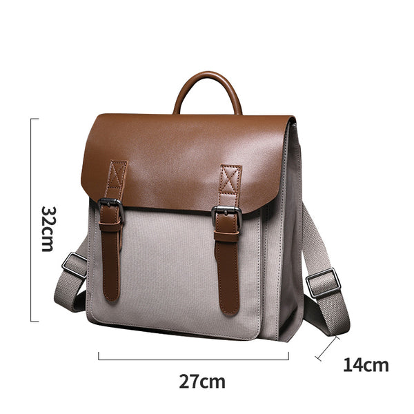 Designer Womens Small Rucksack Leather Backpack Bag Purse Canvas Backpacks for Women gift