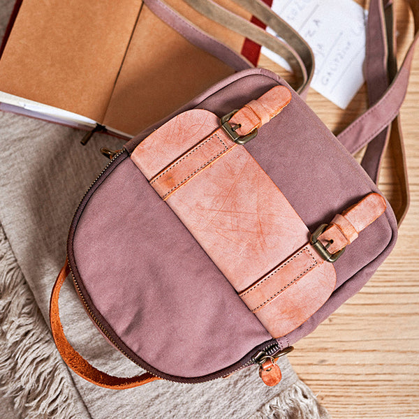 Designer Womens Mini Rucksack Leather Backpack Bag Purse Canvas Backpacks for Women stylish