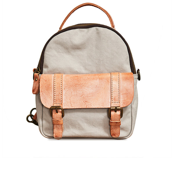 Designer Womens Mini Rucksack Leather Backpack Bag