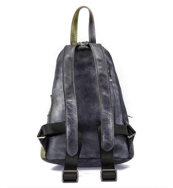 Dyed Leather Womens Backpack Purse Designer Backpacks for Women Details