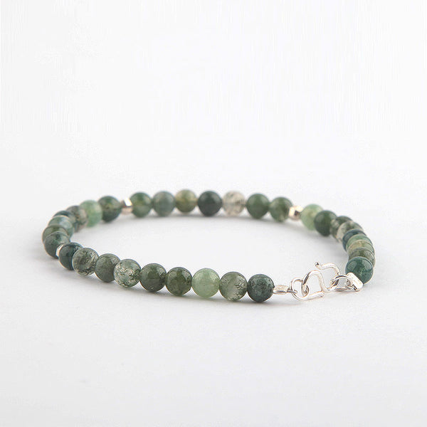 Garden Crystal Agate Beaded Bracelets Handmade Jewelry Accessories Gift for Women