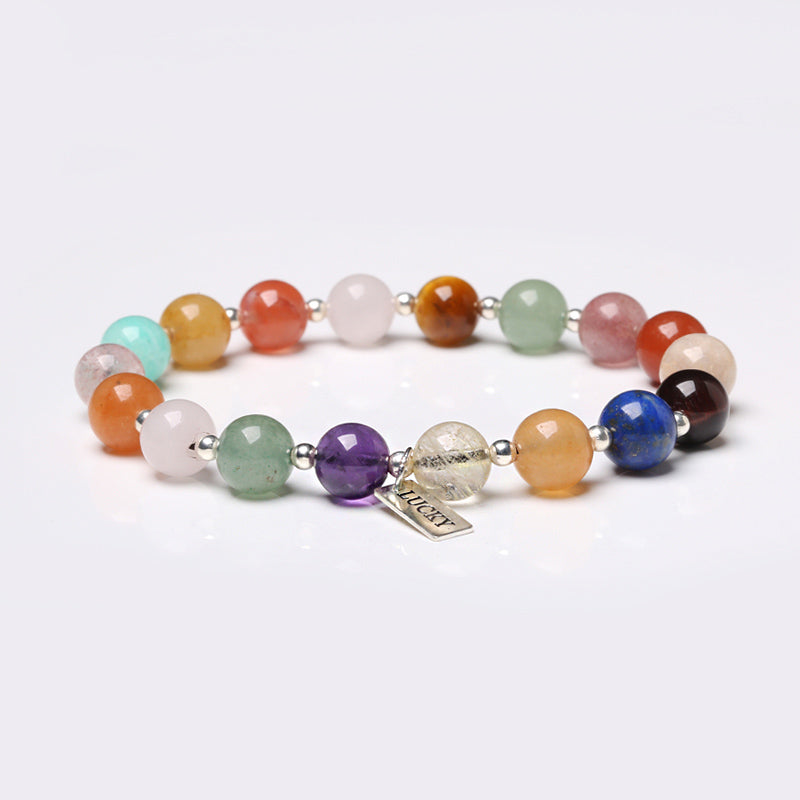 Gemstone Beaded Bracelets Handmade Jewelry Accessories Gift Women Men adorable