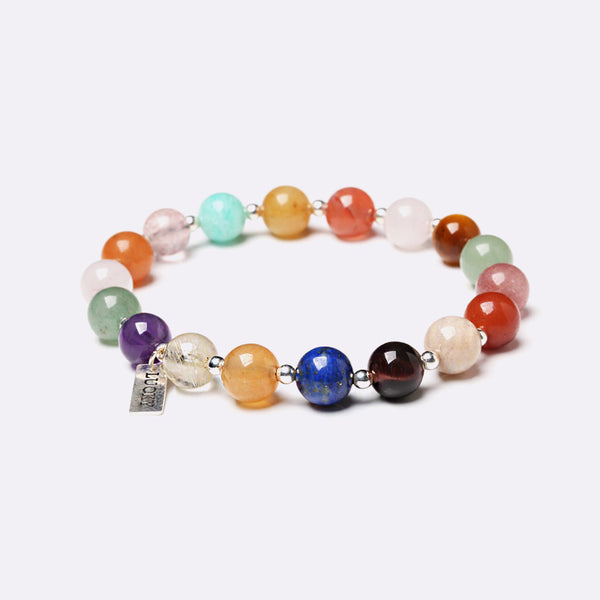 Gemstone Beaded Bracelets Handmade Jewelry Accessories Gift Women Men chic