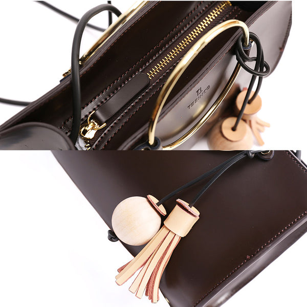 Genuine Leather Handbags for Women Leather Crossbody Bags for Women Details