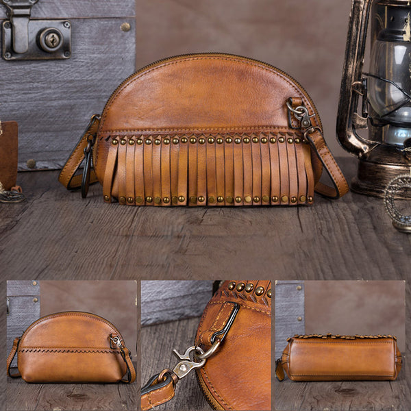 Genuine Leather Handmade Crossbody Shoulder Bags Purses Accessories Women cool