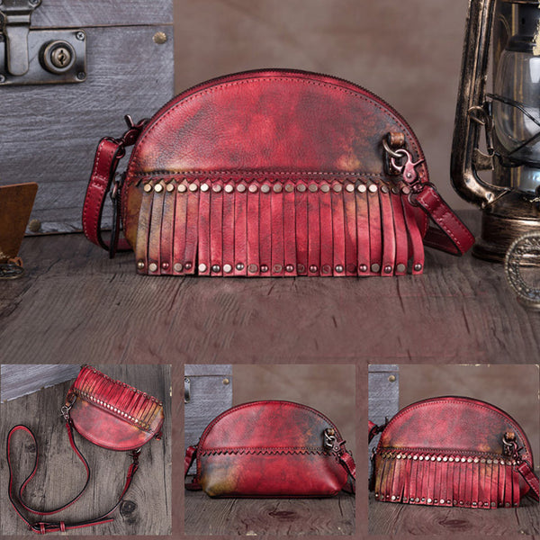 Genuine Leather Handmade Crossbody Shoulder Bags Purses Accessories Women gift