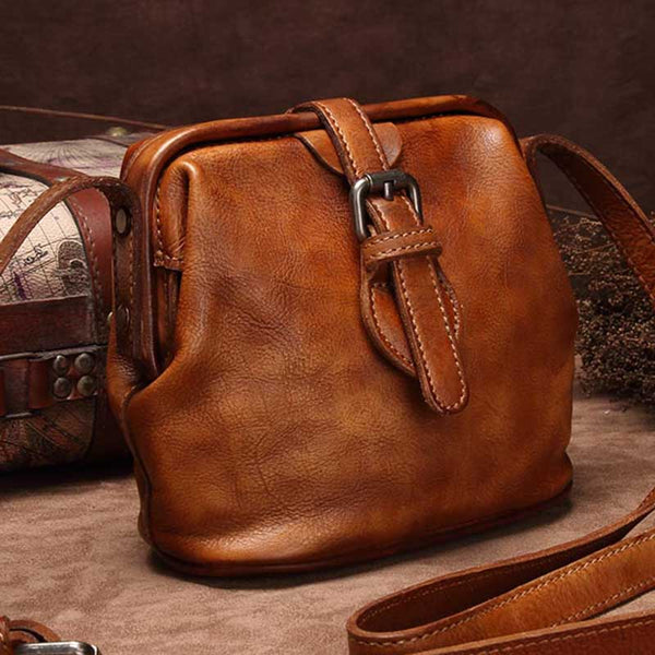 Genuine Leather Handmade Vintage Crossbody Shoulder Bags Purses Accessories Gift Women good