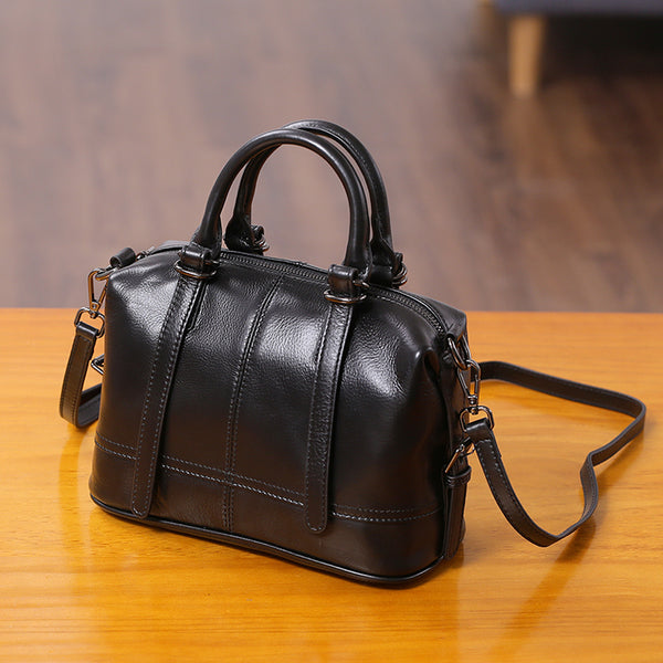 Genuine Leather Ladies Handbags Crossbody Bags Purse for Women