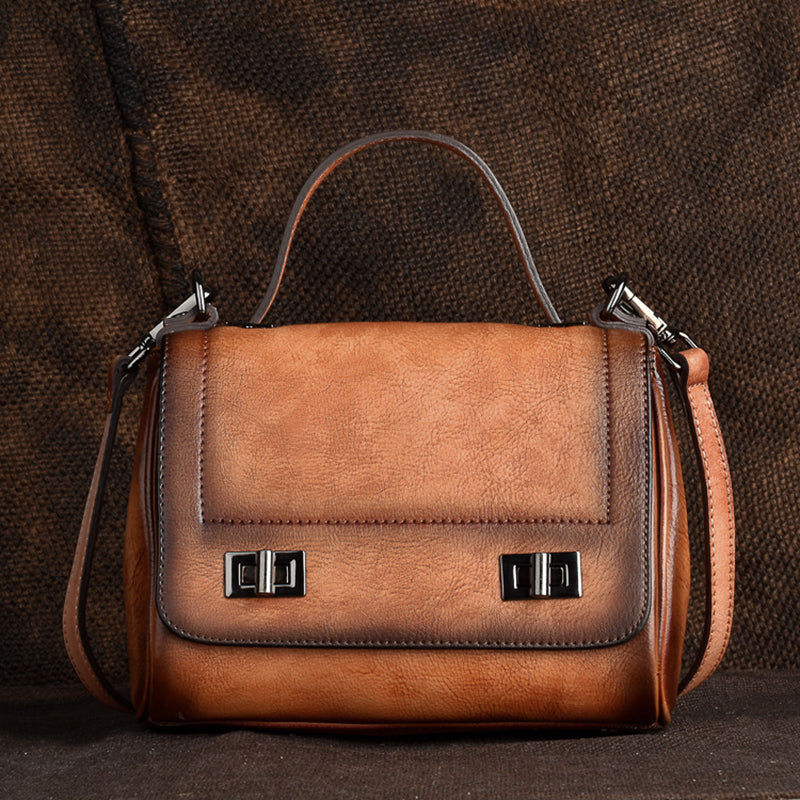 Genuine Leather Satchel Bag Crossbody Bags Shoulder Bag Purses for Women Accessories