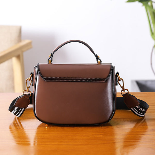 Genuine Leather Womens Crossbody Bags Shoulder Bag Purses for Women Designer