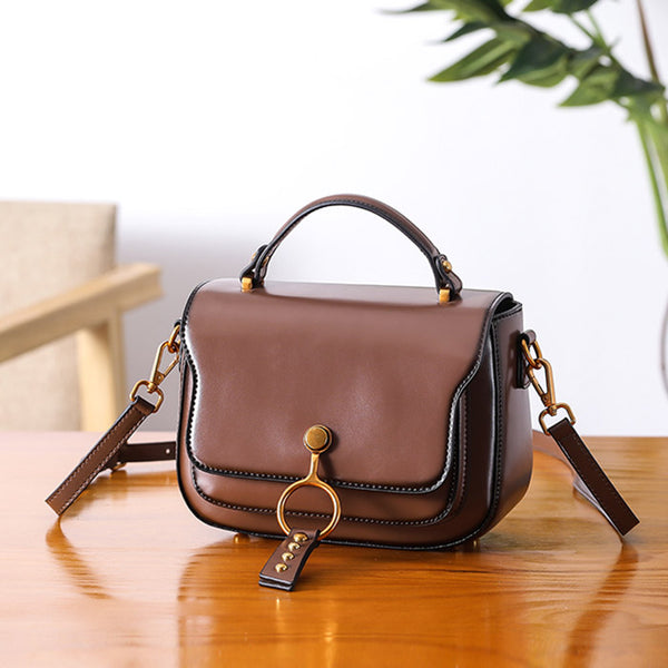 Genuine Leather Womens Crossbody Bags Shoulder Bag Purses for Women Details