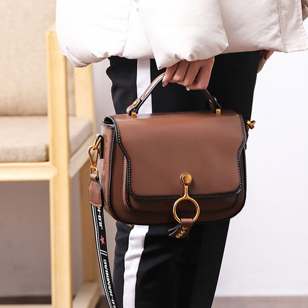 Genuine Leather Womens Crossbody Bags Shoulder Bag Purses for Women Genuine Leather
