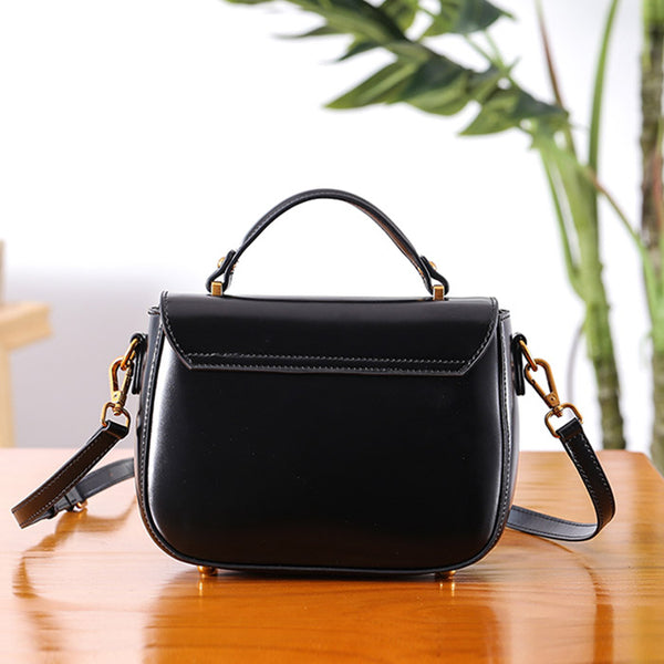 Genuine Leather Womens Crossbody Bags Shoulder Bag Purses for Women Original