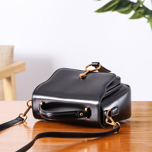 Genuine Leather Womens Crossbody Bags Shoulder Bag Purses for Women fashion
