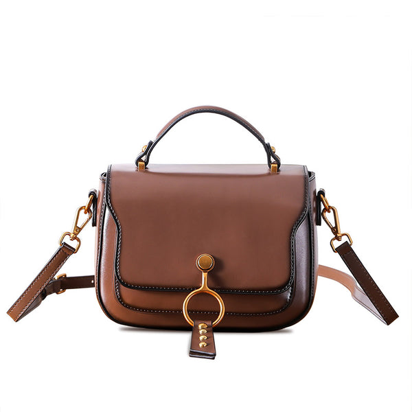 Genuine Leather Womens Crossbody Bags Shoulder Bag Purses for Women